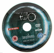 The Ring Two DVD R2 PAL - 2005 Hideo Nakata Horror Occult Movie - DISC ONLY