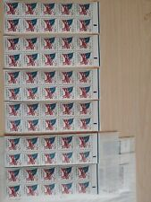 Below face. Scott 2593a Booklet Pane Never Folded VF MNH. 6 panes included.