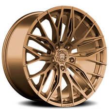"(4) 20"" Lexani Wheels Aries Satin Bronze Rims(B45)"
