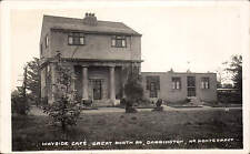 Darrington near Pontefract. Wayside Cafe, Great North Road by Richards.