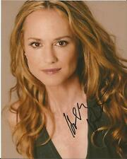 Hand Signed 8x10 photo HOLLY HUNTER BATMAN v SUPERMAN - Senator Finch + my COA
