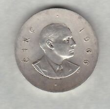 More details for 1966 ireland silver pearce ten shillings in near mint condition