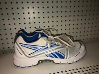 Reebok Ultimatic Mens Athletic Running Training Shoes Size 9 White Blue Gray