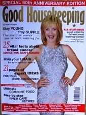 Good Housekeeping Magazine October 2002 Twiggy