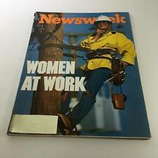Newsweek Magazine: December 6 1976 - Women At Work