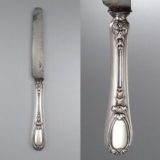 Antique French Sterling Silver Knife, Hallmark, Philippe Berthier, 1840's