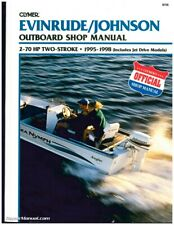 Used Evinrude Johnson 2-70 Hp 2-Stroke Outboard Boat Shop Manual 1995 1996 19.