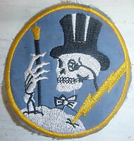Flight Patch - USAAF - 95th BOMB - MR BONES - US ARMY AIR FORCE - WWII - 6243