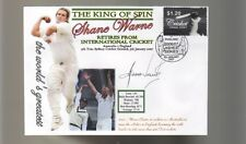 SHANE WARNE 'THE KING OF SPIN' FINAL TEST CRICKET COV 8