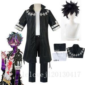 Hot Cosplay My Hero Boku no Hero Academia Dabi Outfit Leather Costume Jacket Set