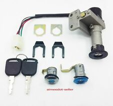 Ignition Key Switch Assembly Lock Set 50cc Scooter Moped JONWAY 50QT-21 BAJA SC5