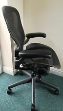 Herman Miller Aeron Fully Loaded Office Chair Size B Refurbished Green