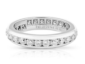 Tiffany & Co. Lucida Eternity Ring with Diamonds 1.37ct. G - VVs1 UK Ring Size J