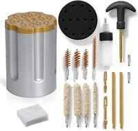 Wild Shot 15pc Gun Cleaning Kit Pistols Guns Keeps Firearms Clean and Oiled