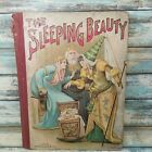 Antique Book The Sleeping Beauty M.A. Donohue & Company Illustrated