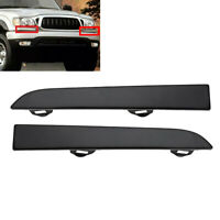 1Pair Under Headlight Cover Front Bumper Filler Trim For Toyota Tacoma 2001-2004