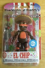 FIVE NIGHTS AT FREDDY'S EL CHIP ACTION FIGURE BY FUNKO  NEW & BOXED FNAF RARE