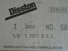 """Disston 5/8"""" X 25 Foot @ 12 TPI Bandsaw Blade Stock Unused Band Saw"""