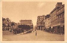 CPA ALGERIE PHILIPPEVILLE RUE CLEMENCEAU