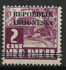 Ned. Indie Repoeblik Indonesia Java- Madoera Zonnebloem 2