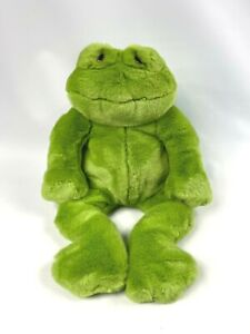 Dakin Lou Rankin Friends Happy Herbert Frog Green Plush Stuffed Animal 17""