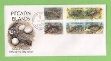 Pitcairn Island 1993 Geckos & Lizards set on First Day Cover