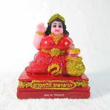 NANG KWAK SUPER-LUCKY Thai Resin Amulet for Rich , Wealth and Lucky Charm