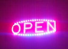 "Super Bright Led Light Animated Motion With ""Open"" Business Sign Neon"