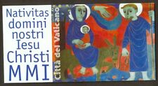 Vatican City 2001 Booklet, Holy Christmas 2001, Sc #1202a MNH