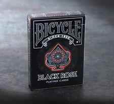 CARTE DA GIOCO BICYCLE BLACK ROSE,poker size