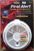 FIRST ALERT - Smoke Fire Detector Alarm w/ Light Test SA90CL