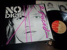 """No Dice """"2 Faced"""" LP inner EMI – 3C 064-62323 Italy 1979"""