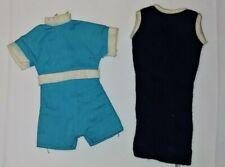 Vintage Ideal Tammy Blue Romper & Tressy Dark Blue Dress