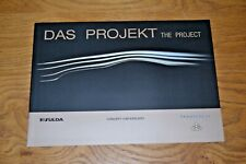 Maybach Exelero Das Project The Project Promotional Brochure; Mint Condition;