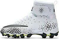 Nike Force Savage Shark BG Football Cleats (880133-100) Kid's Size 2.5Y