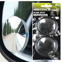 Montoya Convex Blind Spot Stick-On Mirrors Protect Car Van Wheels Protector