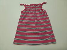 Gap Girls Size 12 Pink & Blue Striped Tank Top Shirt Great Condition