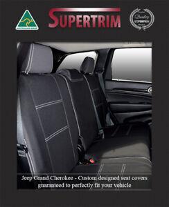 Rear seat covers fit Jeep Grand Cherokee SRT 100% waterproof premium neoprene