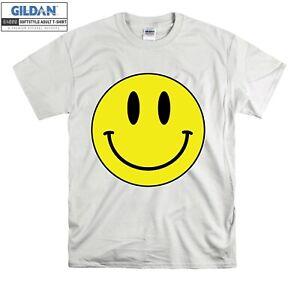 Acid Smiley Face Yellow House Rave T-shirt T shirt Men Women Unisex Tshirt 914