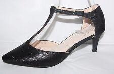 Zapatos de Novia Danza Pequeño Tacón Tiras con Brillo M915 Bzw : L1901