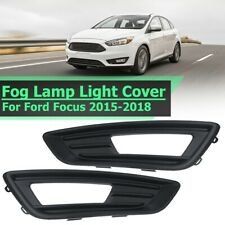 Pair Front Fog Light Lamps Cover Trims For Ford Focus Hatchback Estate 2015-2018