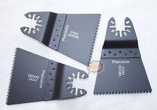 3 St Japan Sägeblatt 65 mm Holz Zubehör für Fein Dewalt Worx Dewalt Schnellspann