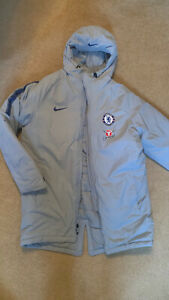Nike Chelsea FC Official Puffer Jacket Coat Size XL Extra Large