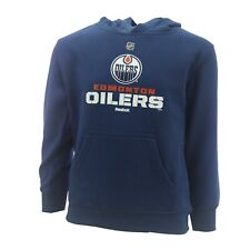 Edmonton Oilers Official NHL Reebok Kids & Youth Size Hooded Sweatshirt New Tags