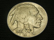 1936 XF/AU Old Buffalo Nickel US Coin each additional coin ships free