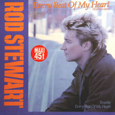 ROD STEWART Every Beat Of My Heart Trouble GER Press Warner 9505110 1986 Maxi 45