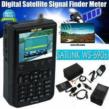 SATLINK WS6906 3.5in LCD Display Data Digital Satellite Signal Finder Meter D5J4