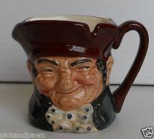 "Vintage Royal Doulton ""Old Charley"" Miniature Toby Mug Jug D6046 England"