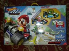 Hot Wheels Ai Starter Set Mario Kart Edition Track Set Remote Mario Sounds Game