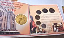 KMS Österreich 1999 handgehoben -  Schilling-Satz (kein Euro) AT